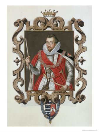 Portrait of Robert Cecil
