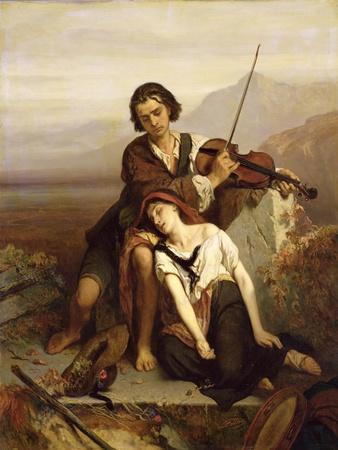 Comfort in Grief, c.1852