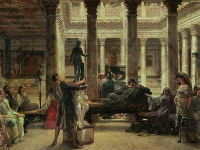 Roman Art Lover, 1870