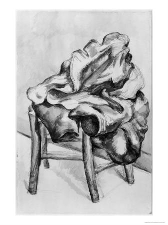 Drapery on a Chair, 1980-1900