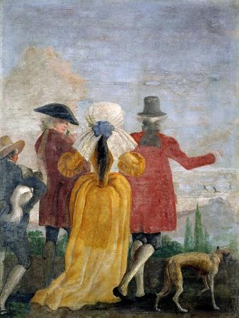 The Walk, c.1791