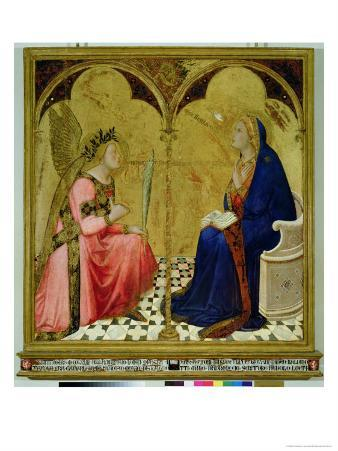 The Annunciation, 1344