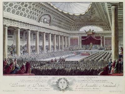 Opening of the Estates General at Versailles, 5th May 1789