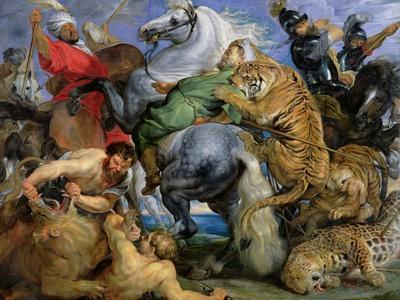 The Tiger Hunt, c.1616