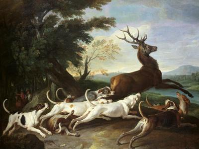 The Deer Hunt, 1718
