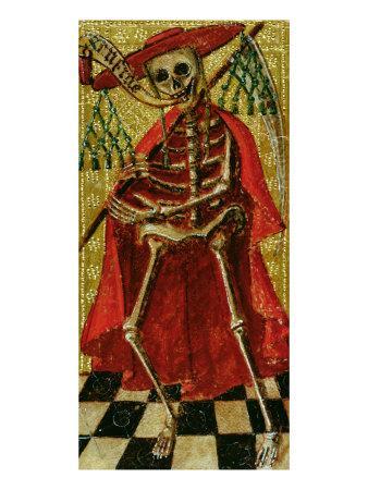 Tarot Card Representing Death