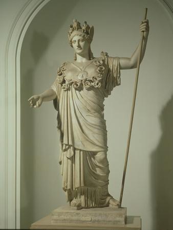 Roman Replica of the Athena Farnese