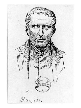 Portrait of Louis Braille