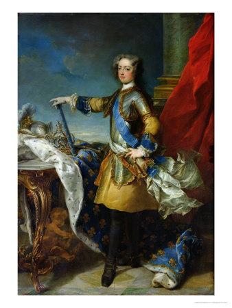 Portrait of Louis XV