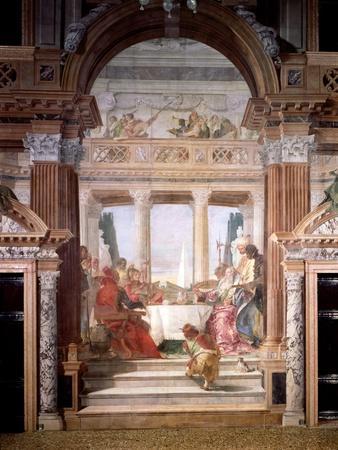 Cleopatra's Banquet, 1747-50