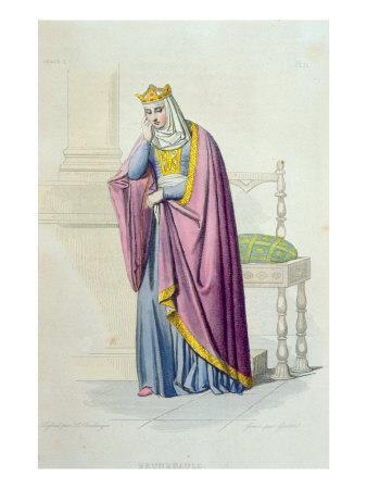 Portrait of Queen Brunhilda
