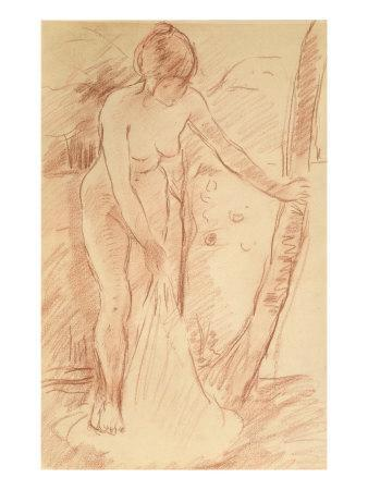 Standing Bather, 1888