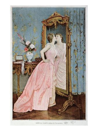 In the Mirror, 1890