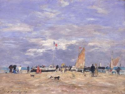 The Jetty at Deauville, 1869