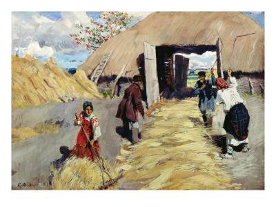Threshing Floor, 1916
