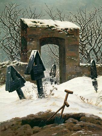 Cemetery in the Snow, 1826