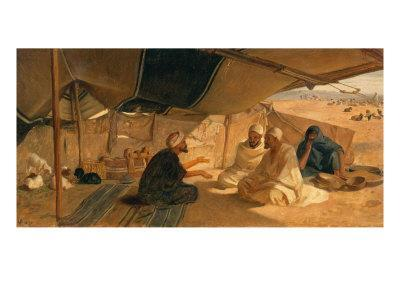 Arabs in the Desert, 1871