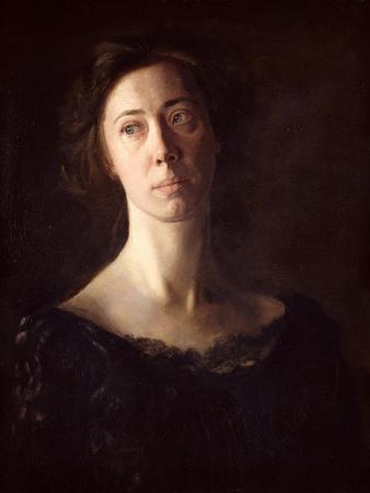 Portrait of Clara J. Mather
