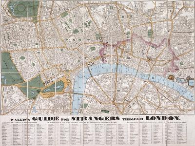 Wallis's Guide For Strangers Through London, 1841