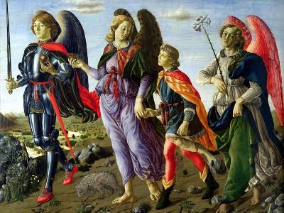 The Three Archangels and Tobias