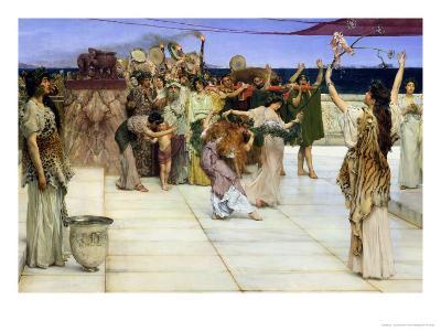 Dedication to Bacchus, 1889