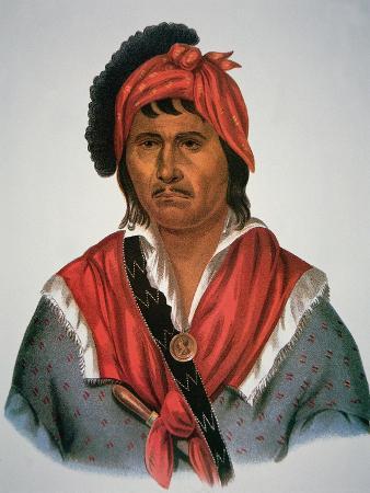 Neamathla Chief, 1826