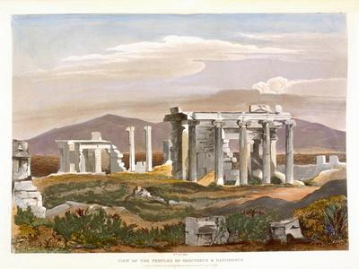 Temples of Erectheus and Pandrosus, the Acropolis, Remains of Ancient Monuments in Greece