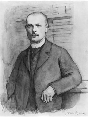 Portrait of Charles Peguy