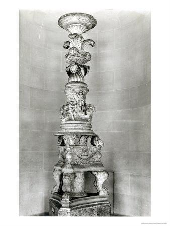 Candelabra Designed by Piranesi on the Basis of Roman Antique Pieces For His Own Tomb