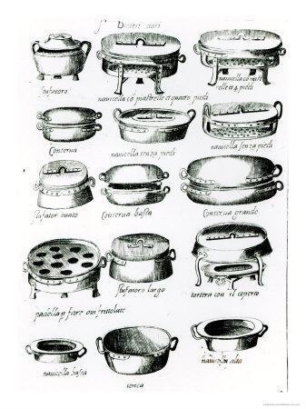 Various Cooking Vessels, 1570