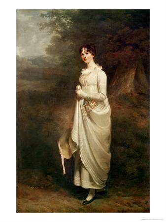 Portrait of Maria. B. Fox