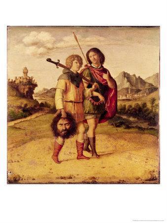 David and Jonathan, c.1505-10