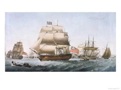 HMS Victory, 1806