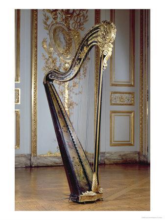 Harp Belonging to Queen Marie Antoinette