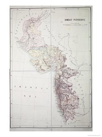 Bombay Presidency, 1890