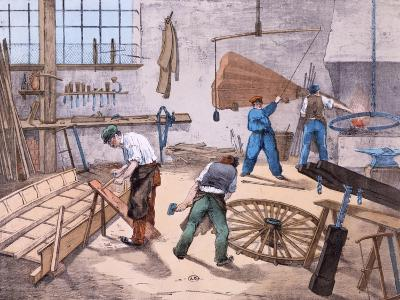 The Wheelright, c.1860