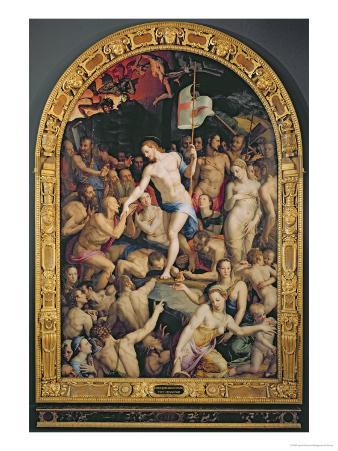 Christ in Limbo, 1552