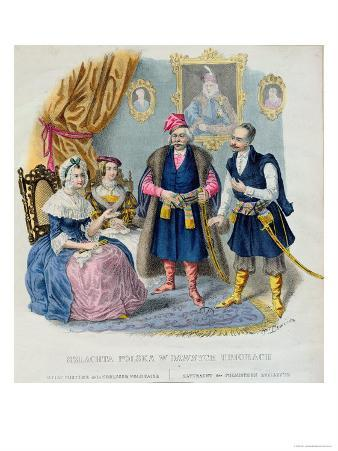 Old Costumes of the Polish Nobility