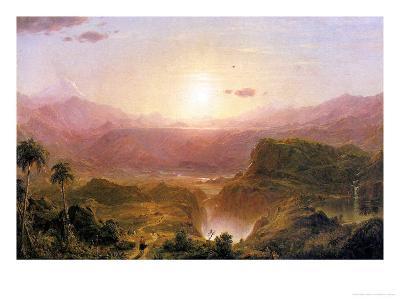 The Andes of Ecuador, c.1876