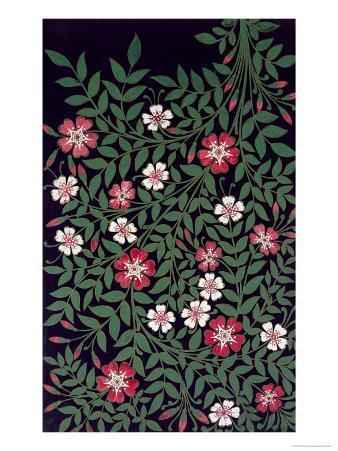 Floral Design by J. Owen, 1863