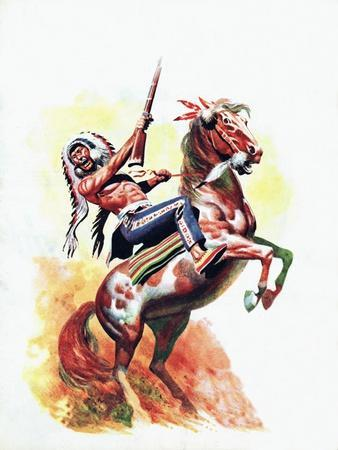 The Charge of the Sioux