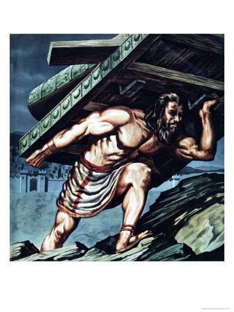 Samson Carrying the Gate of Gaza