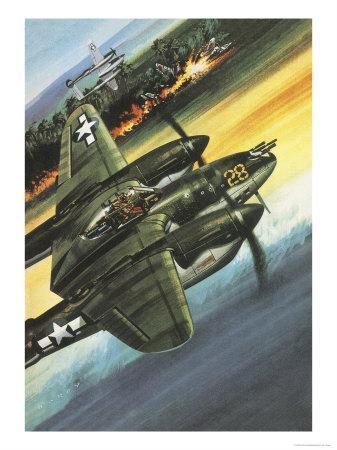 Famous Aircraft and Their Pilots: Lockheed Lightning - Major Richard I. Bong
