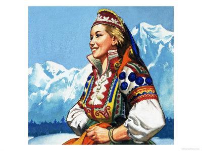 National Costume of Yugoslavia