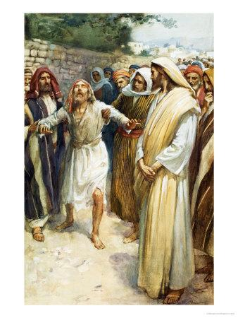 Jesus and a Blind Man