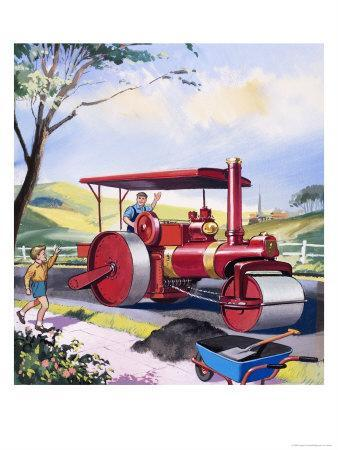 Steam Roller Driver
