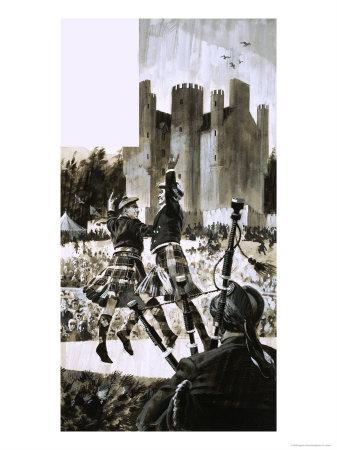 The Highland Games of Braemar