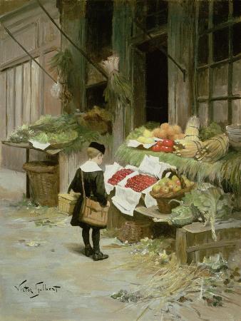 Little Boy at the Market