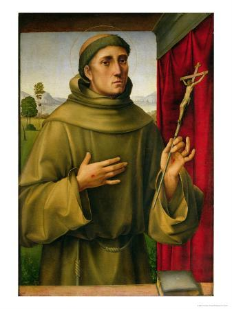 St. Francis of Assissi, c.1490