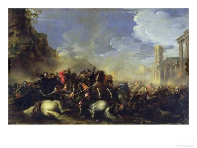 Battle Scene, c.1641-42